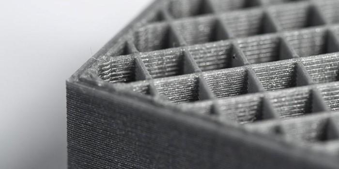 Vulling van een 3D geprint onderdeel