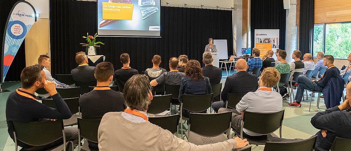 Additive Manufacturing Day 2019 - ROC Friese Poort - Mark3D - Cadmes -1
